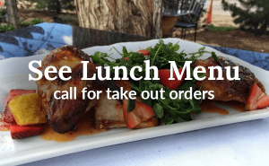See our take out menu
