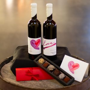 SweetHeart Pack (Special Valentine Wines w/ Chocolate Truffles)