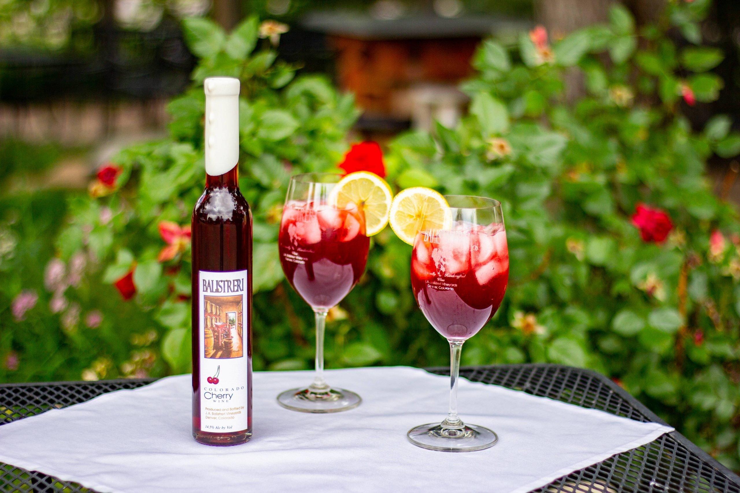 Balistreri Cherry Wine Spritzer Recipe