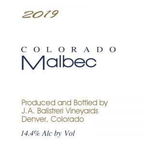 2019 Colorado Malbec | (Avant Vineyard)