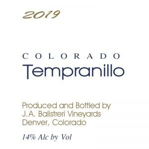 2019 Colorado Tempranillo | (Avant Vineyard)