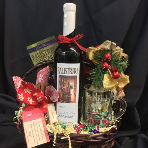 Hot Spiced Wine Basket