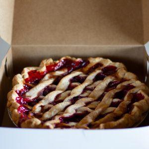 Homemade Balistreri Cherry Pie
